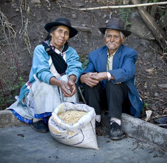 Lucia und Eugenio, Kaffeebauern in Peru © TransFair e.V. / Foto: Christian Nusch