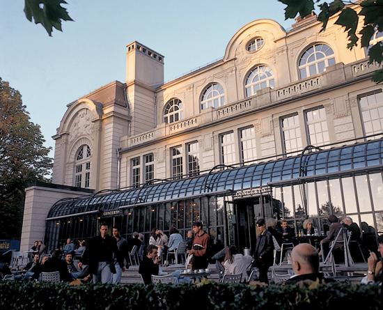 Restaurant & Bar in der Tonhalle – hier habe ich oft gesessen © St Gallen Bodensee Tourismus