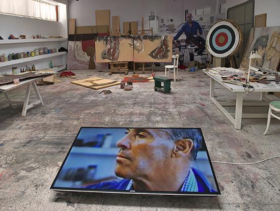 Die Werkstatt des Künstlers César Manrique in seinem Haus in Haría auf Lanzarote  © Fundación César Manrique